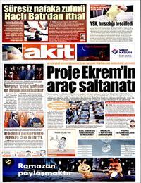 Yeni Akit Gazetesi